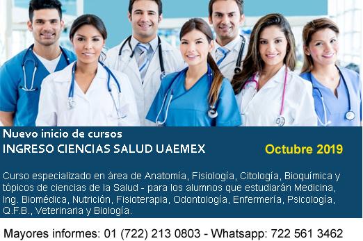curso ingreso medicina uaemex