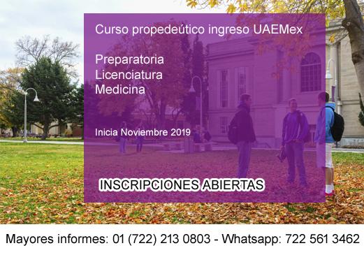 convocatoria uaemex 2019